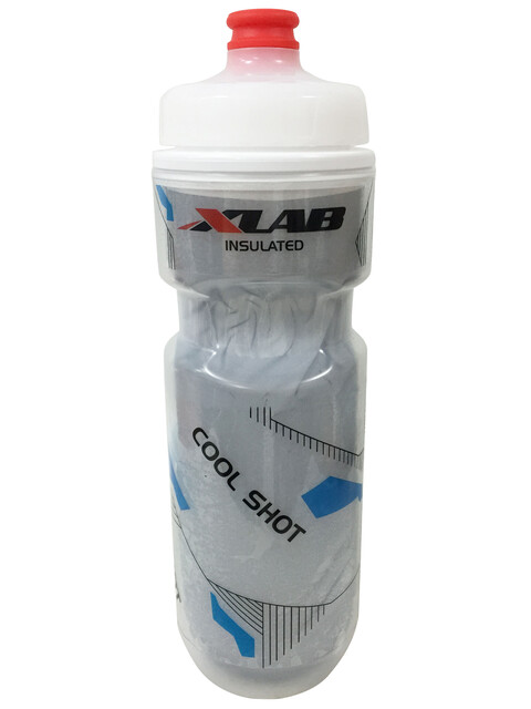 XLAB Cool Shot Drink Bottle white/silver